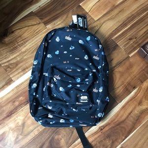 Disney Star Wars Lounge Fly Mini Backpack NWT